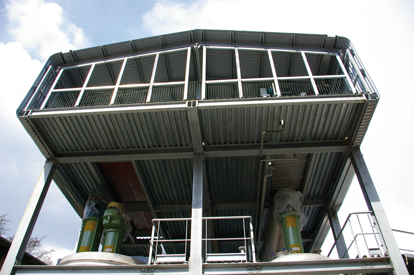 Pin galleria fotografica strutture in ferro tecno service for Strutture in ferro per case